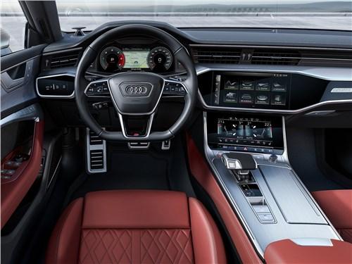 Audi S7 Sportback TDI 2020 водительское место