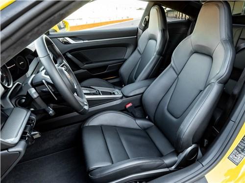 Предпросмотр porsche 911 carrera 2019 передние кресла
