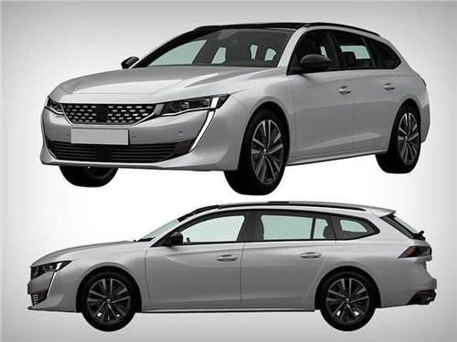 Peugeot запатентовал в Росиии новый универсал