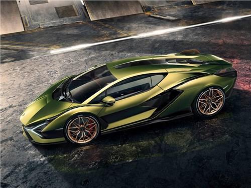 Lamborghini представили супергибрид