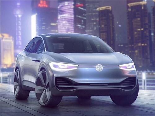 Новость про Volkswagen - Volkswagen ID Crozz Concept 2017