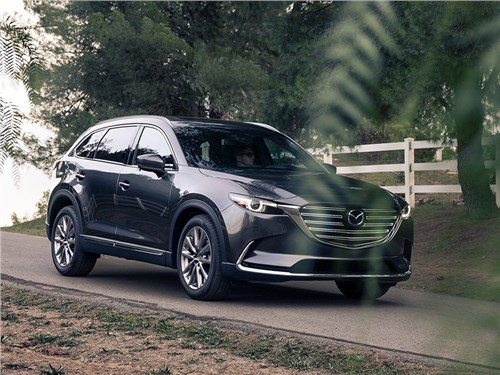 Mazda CX-9 плюс электроника, равняется проблема