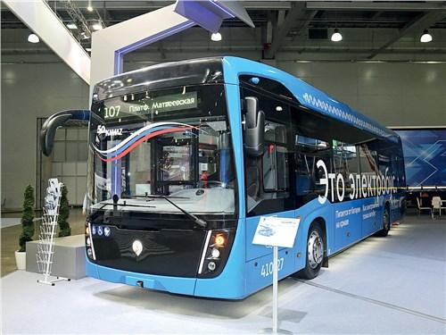 Электробус KAMAЗ-6282-012