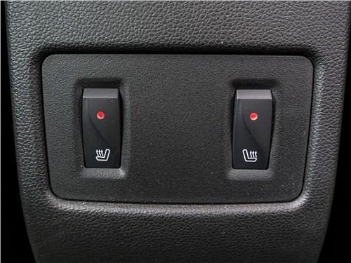 Renault Arkana 2020 подогрев дивана