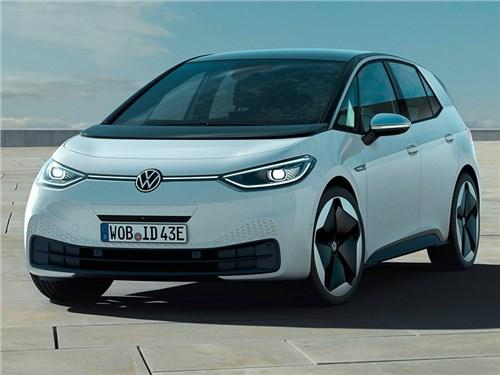 Электромобили Volkswagen глючат