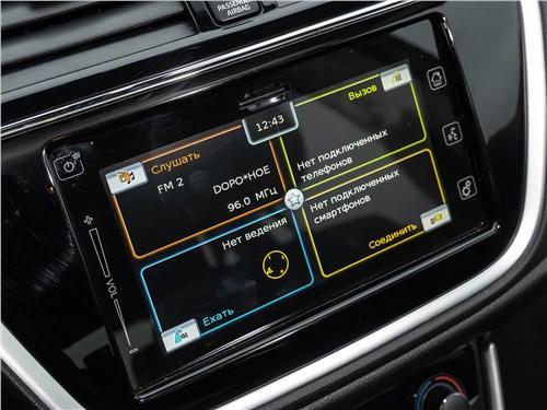Suzuki SX4 2016 сенсорный экран