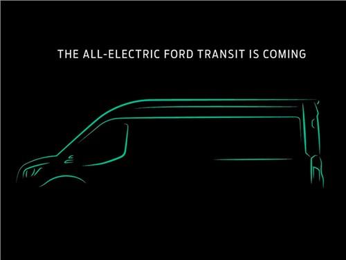 Новость про Ford - Ford анонсировал электрический Transit