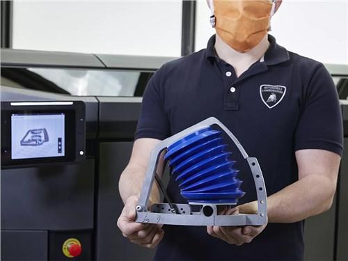 Lamborghini начала выпускать имитаторы легких