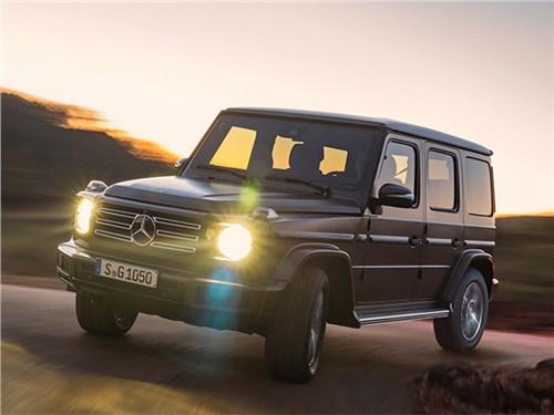 Mercedes отправит на сервис 500 «Гелендвагенов» в России