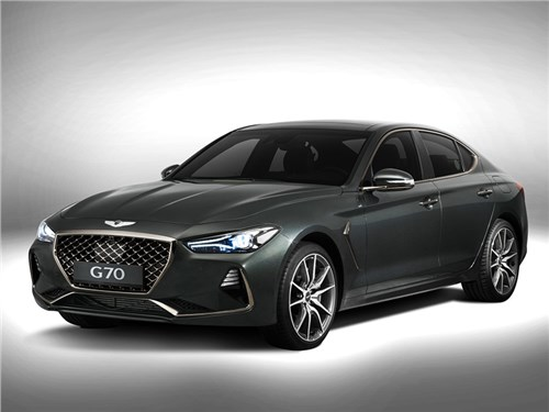 Новость про Hyundai Genesis G70 - Genesis G70 2018