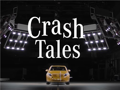 Mercedes-Benz снял сериал о манекенах для краш-тестов