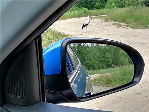 Hyundai Solaris 2020 боковое зеркало