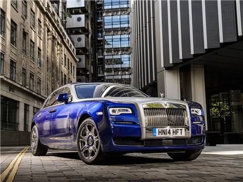 Новый Rolls-Royce Ghost получит инновационную систему очистки воздуха в салоне