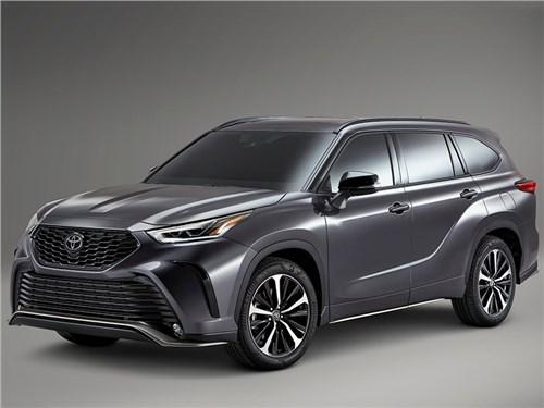 Toyota запатентовала Highlander нового поколения для России