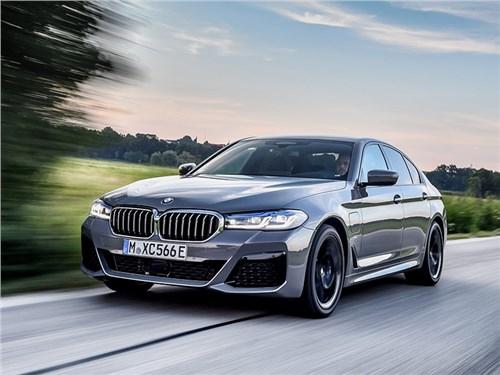 Седан BMW 5-Series обзавелся гибридной версией