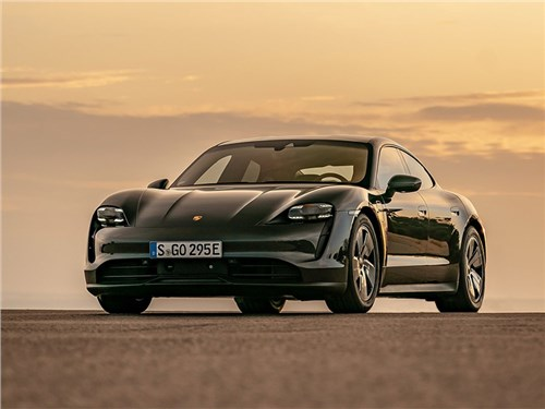 Porsche Taycan можно будет дооснащать новыми функциями «по воздуху»