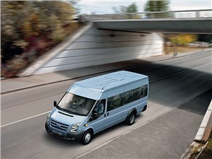 Предпросмотр ford tranzit 2006 микроавтобус длинная база средняя крыша фото 1