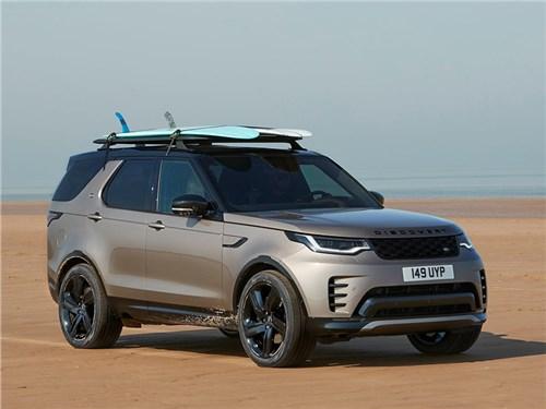 Land Rover Discovery обзавелся новыми турбомоторами