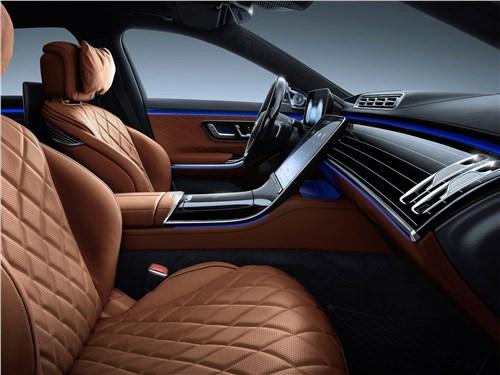 Предпросмотр mercedes-benz s-class (2021) передние кресла