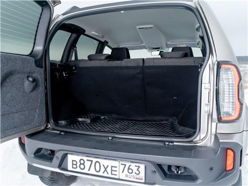Lada Niva Travel (2021) багажное отделение