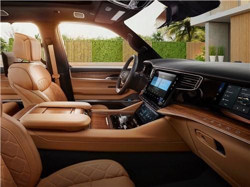 Предпросмотр jeep grand wagoneer (2022) передние кресла