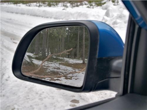 Kia Rio X (2020) боковое зеркало