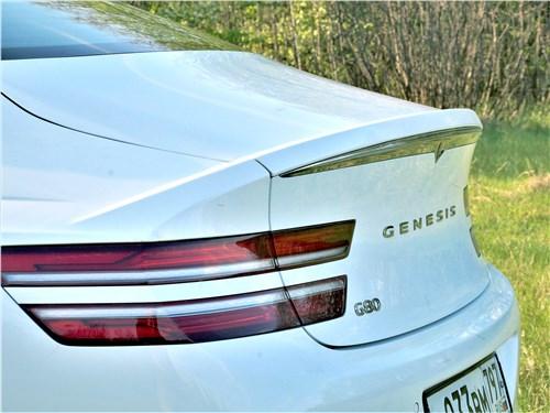 Предпросмотр genesis g80 (2021) задний фонарь
