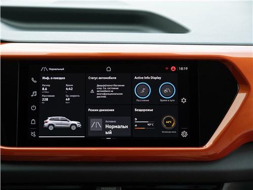 Предпросмотр volkswagen taos (2022) монитор