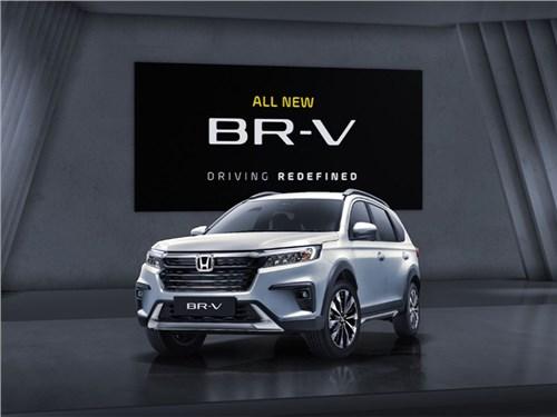 Honda представила новое поколение семиместного кроссовера BR-V