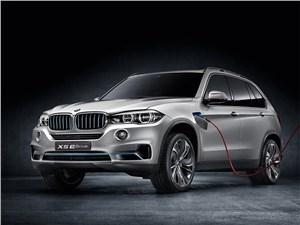 BMW представила гибридный концепт-кар Х5