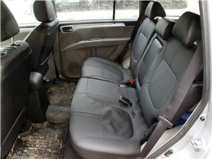 Mitsubishi Pajero Sport 2013 задний диван