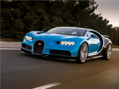 Bugatti выпустит гибридную модель