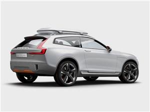 Предпросмотр volvo xc coupe concept 2014 вид сбоку фото 3
