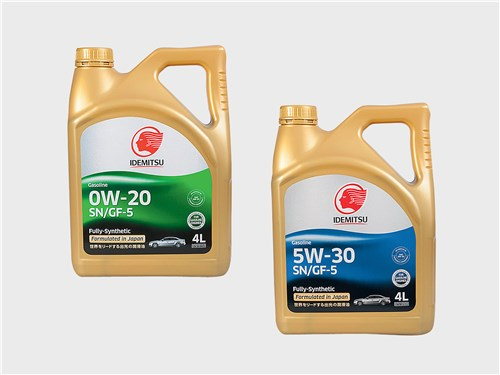 IDEMITSU 0W-20 SN/GF-5; IDEMITSU 5W-30 SN/GF-5