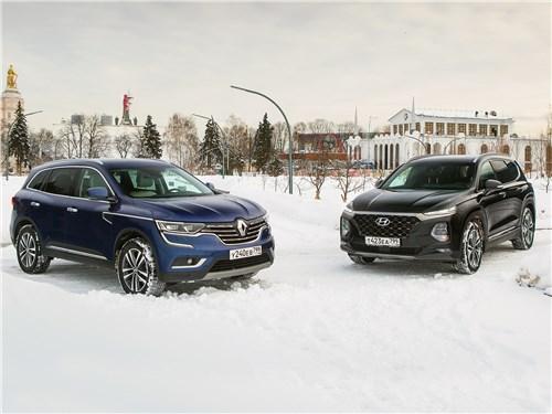 Hyundai Santa Fe - hyundai santa fe и renault koleos: внешность имеет значение