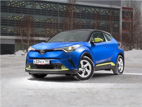 Toyota C-HR - toyota c-hr 2017 помогает быть в форме и успевать по делам