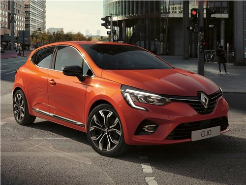 Renault Clio 2020 вид спереди