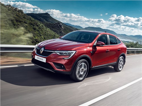 Новый Renault Arkana - Renault Arkana 2020 Из России с любовью
