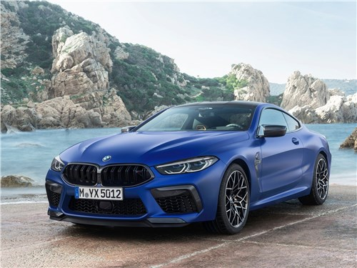 BMW M8 Competition Coupe 2020 вид спереди