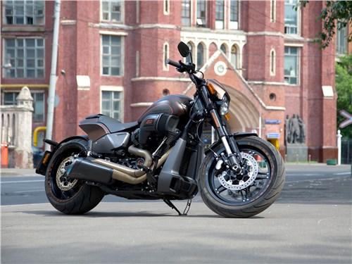 Новый Harley-Davidson FXDR: Мышцы и нервы