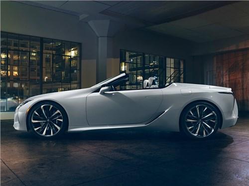 Lexus готовит новый кабриолет