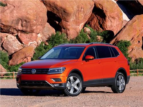 Новый Volkswagen Tiguan появится в 2022 году