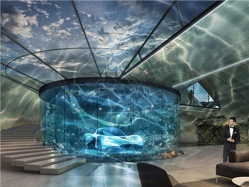 Aston Martin будет строить собственные гаражи