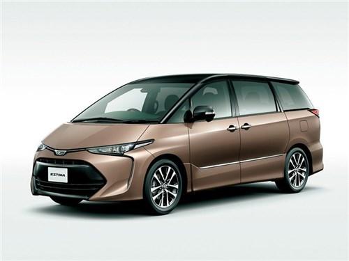 Toyota прекратит выпуск Estima