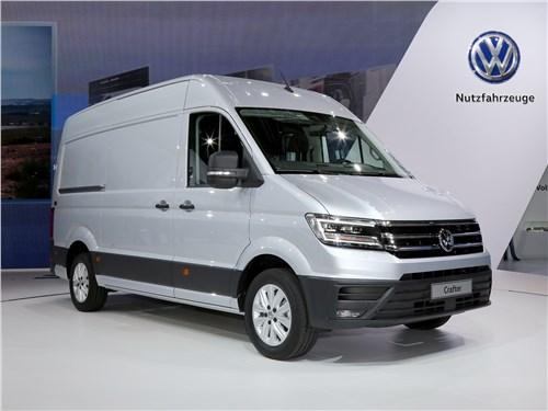 Volkswagen Crafter нового поколения