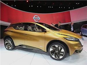 Новое поколение Nissan Murano дебютирует в апреле