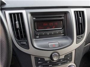 Chery M11 2013 панель аудиосистемы и климат-контроля
