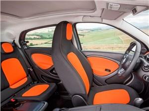 Предпросмотр smart forfour 2015 передние и задние кресла