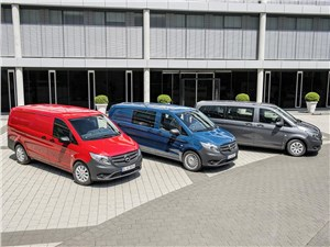 Предпросмотр mercedes-benz vito 2015 три модификации