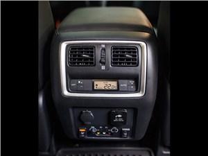 Infiniti QX60 Hybrid 2015 климатическая установка для второго ряда